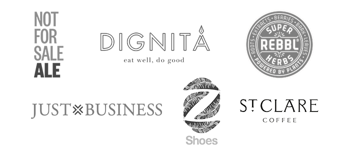 Our Not For Sale Ventures - Not For Sale Ale, Dignita, REBBL, Just Business, Z Shoes, St Clare Coffee